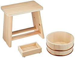 Wood onsen set